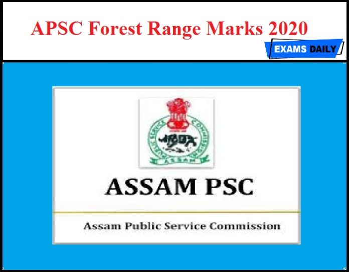 APSC Forest Range Marks 2020 OUT – Download Cutoff Marks