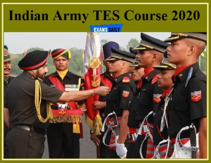 Indian Army TES Course 2020