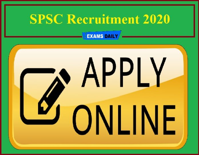 SPSC Recruitment 2020
