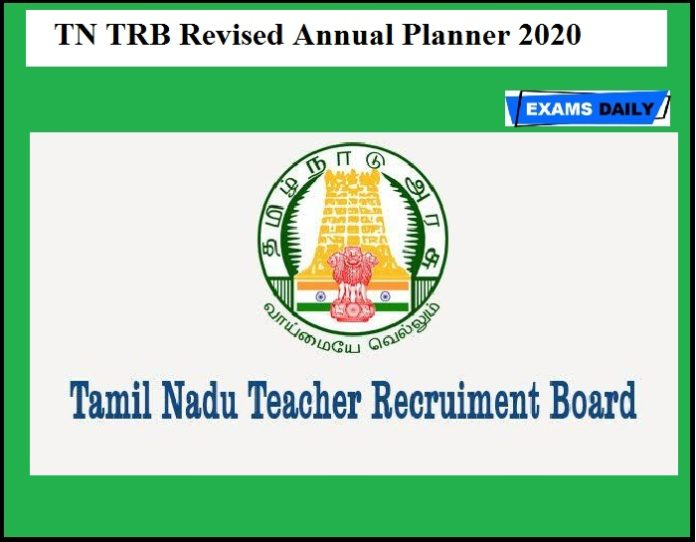 TN TRB Revised Annual Planner 2020