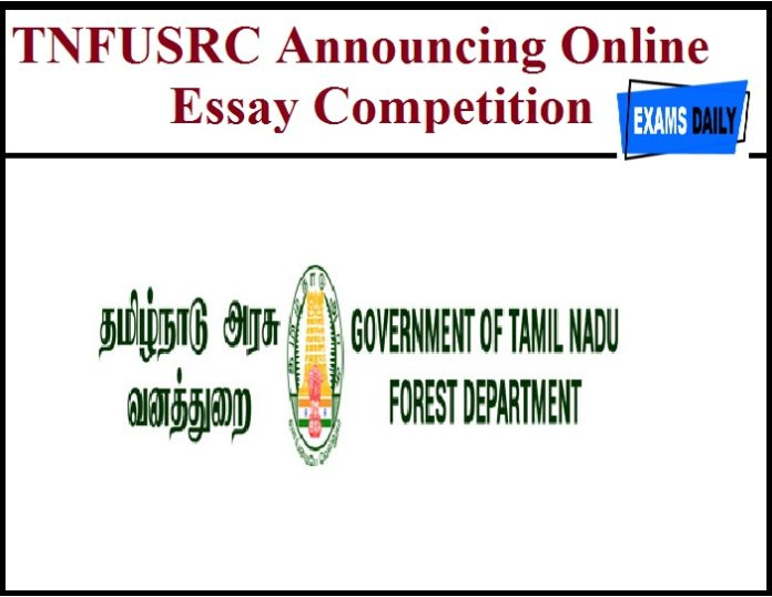 TNFUSRC Announcing Online Essay Competition