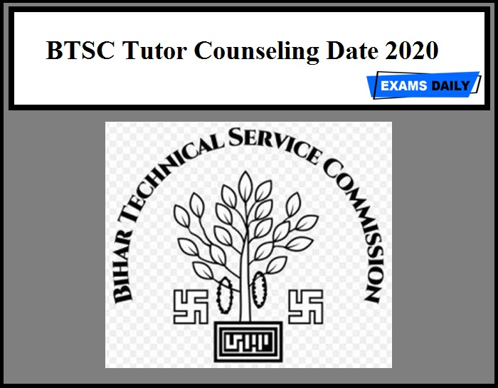 BTSC Tutor Counseling Date 2020