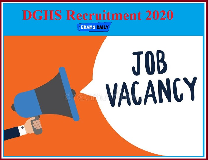 DGHS Recruitment 2020(Out) – Download Application for Consultant Vacancy!!!
