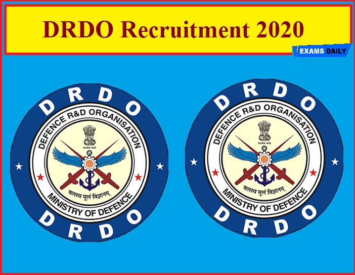 DRDO Recruitment 2020(Out) – Walk in Interview for JRF & Research Associates!!!