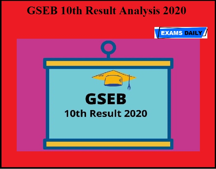 GSEB 10th Result Analysis 2020 OUT