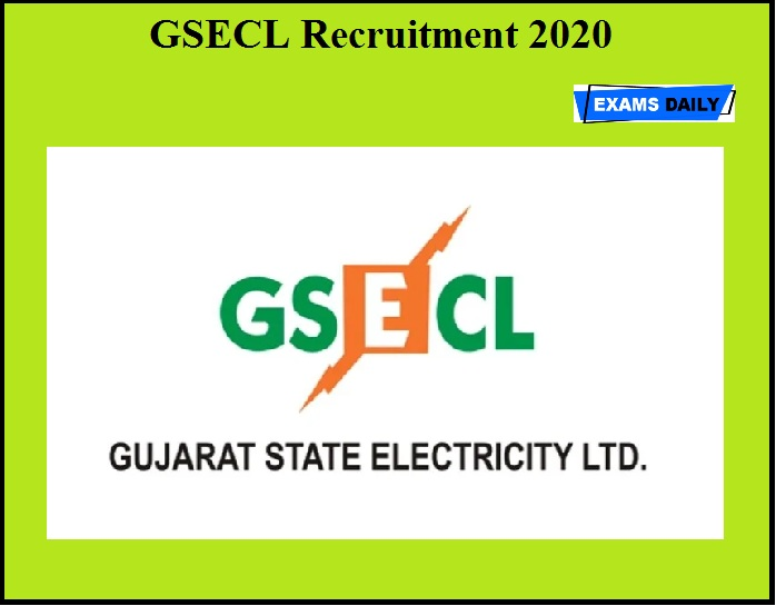 GSECL Recruitment 2020 OUT