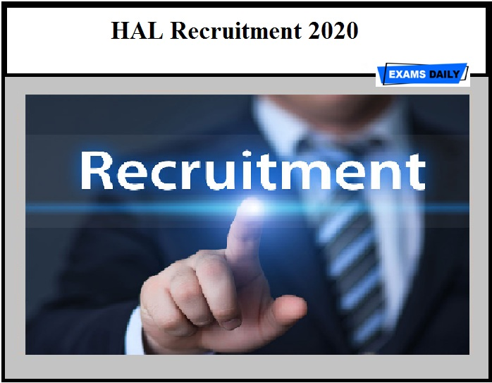 HAL Recruitment 2020 Out – Walk-In Interview