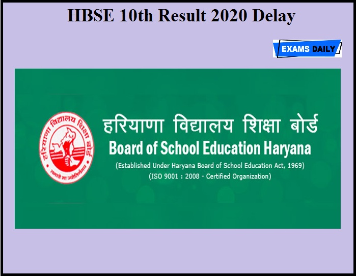 HBSE 10th Result 2020 Delay