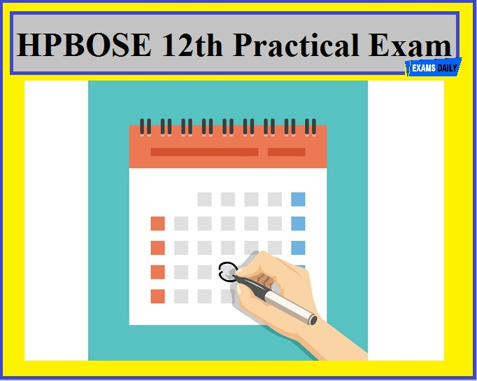 HPBOSE 12th Practical Exam Date 2020