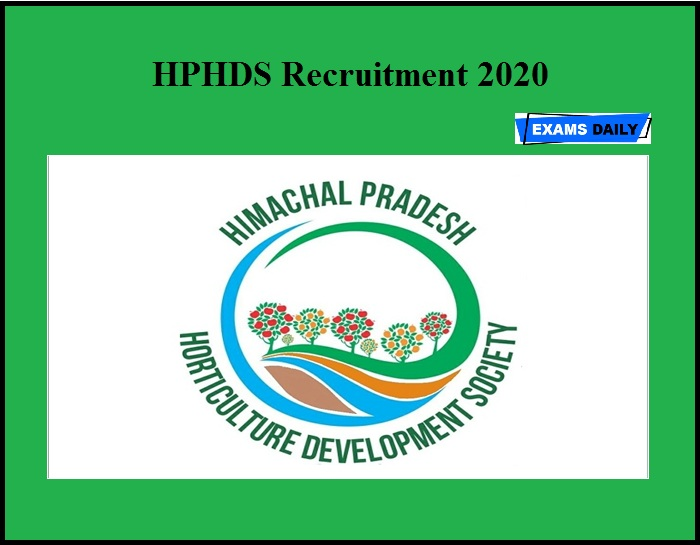 HPHDS Recruitment 2020 OUT – Apply for 59 Farm Manager Assistant Farm Manager, Technical Facilitator & Facilitator Posts