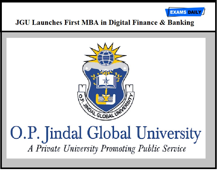 JGU Launches First MBA in Digital Finance & Banking