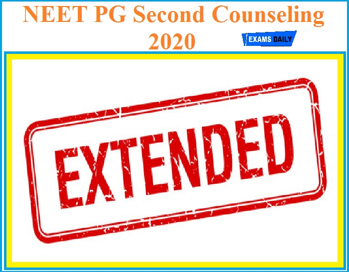 NEET PG Second Counseling 2020