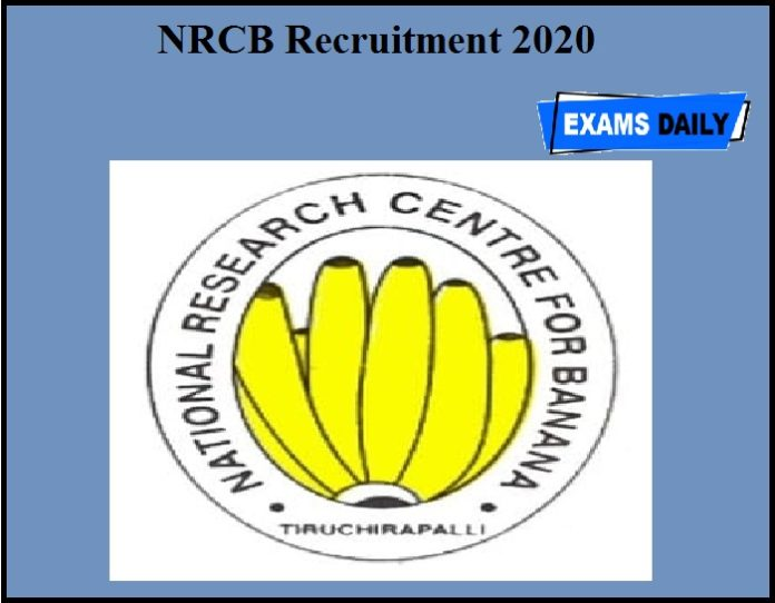 NRCB Recruitment 2020 OUT