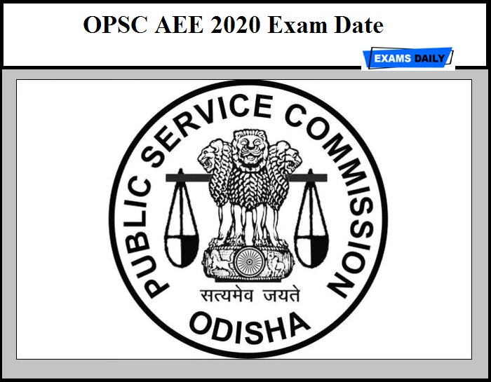OPSC AEE 2020 Exam Date