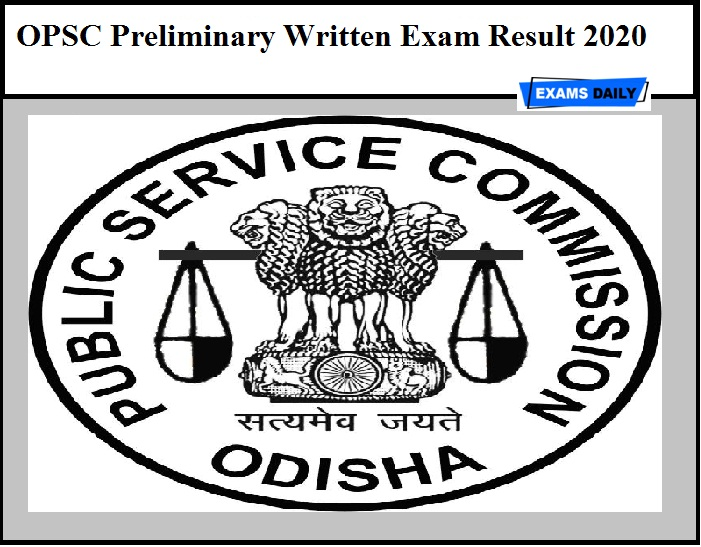 OPSC Preliminary Written Exam Result 2020