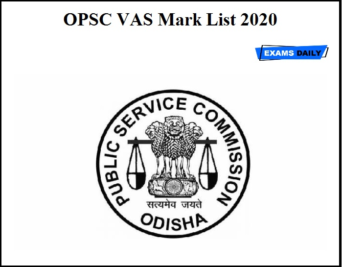 OPSC VAS Mark List 2020 OUT