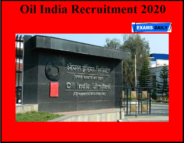 Oil India Recruitment 2020 OUT