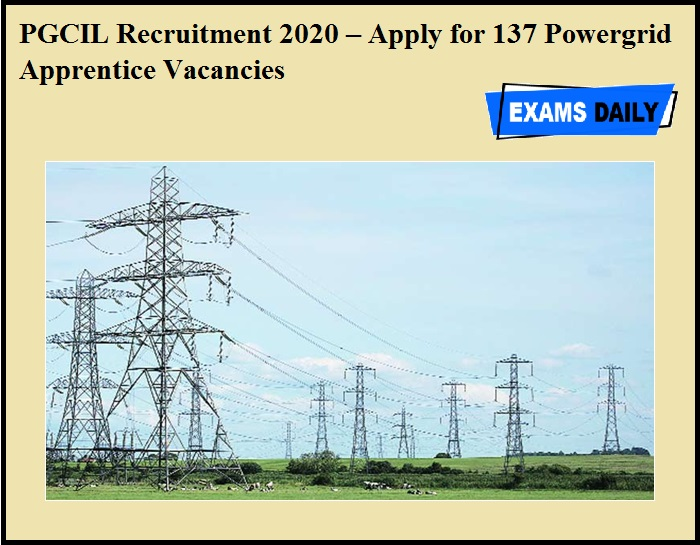 PGCIL Recruitment 2020 OUT – Apply for 137 Powergrid Apprentice Vacancies