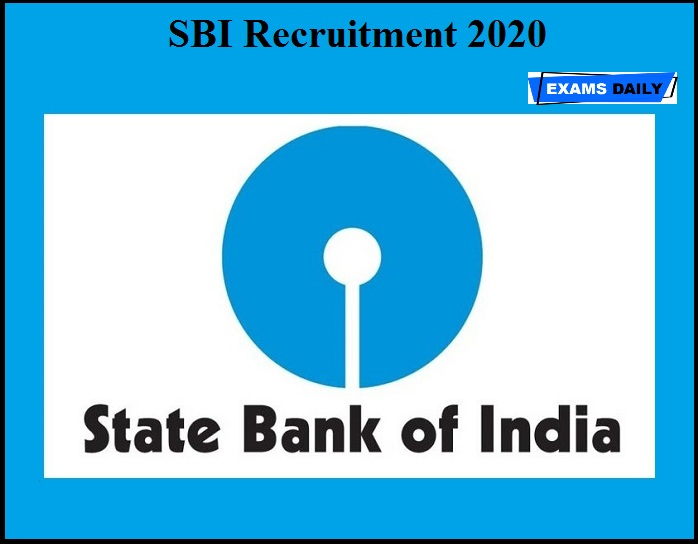 SBI Recruitment 2020 OUT