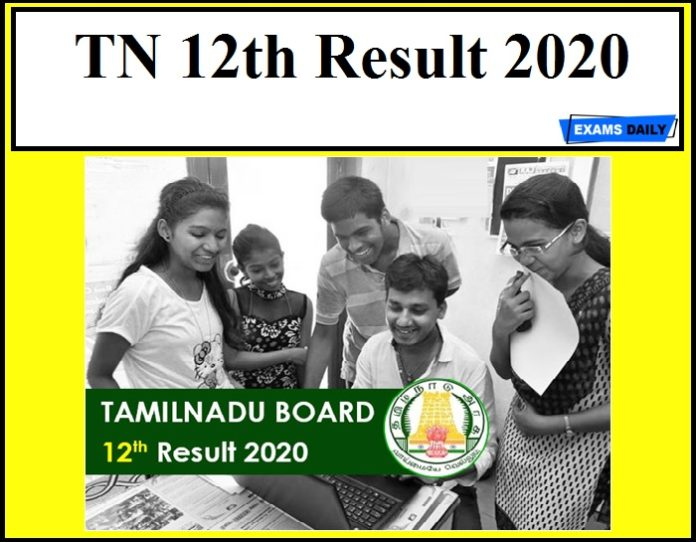 TN 12th Result 2020