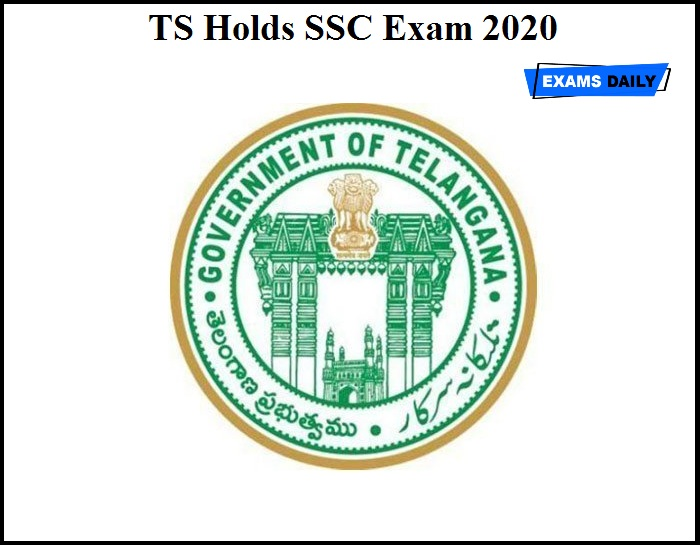TS Holds SSC Exam 2020