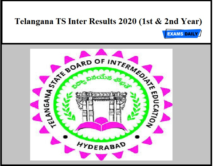 Telangana TS Inter Results 2020 (1st & 2nd year) – Released Soon