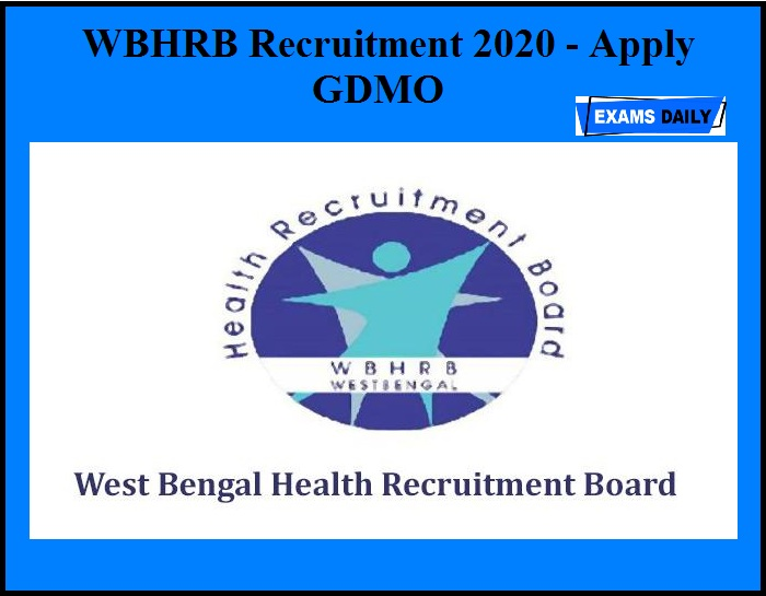 WBHRB Recruitment 2020 OUT