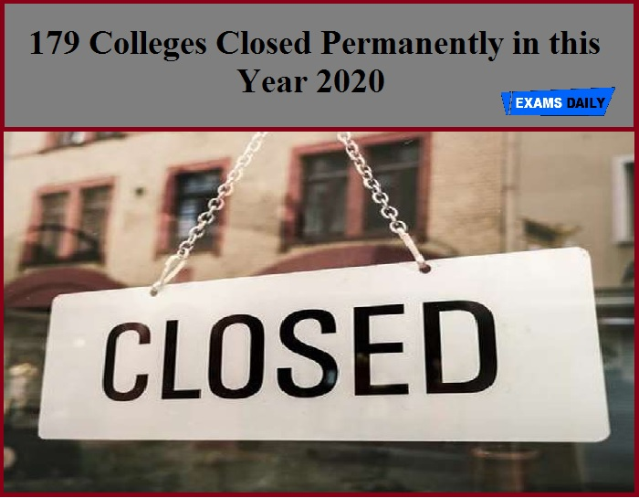 179 Professional Colleges closed This Year, Highest In Last 9 Years