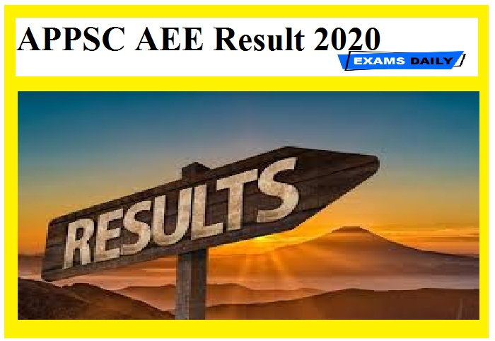AAPPSC AEE Result 2020
