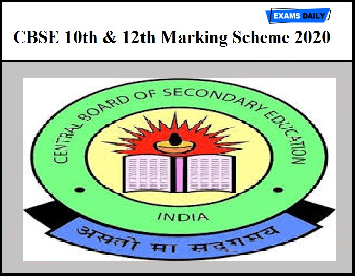 CBSE 10th & 12th Marking Scheme 2020 Released – Download PDF for Class 10 & 12