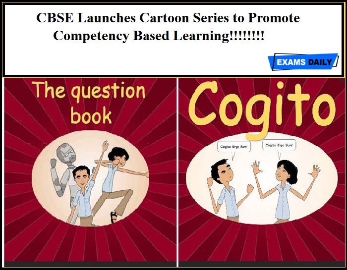 CBSE Launches Cartoon Series to Promote Competency Based Learning!!!!!!!!