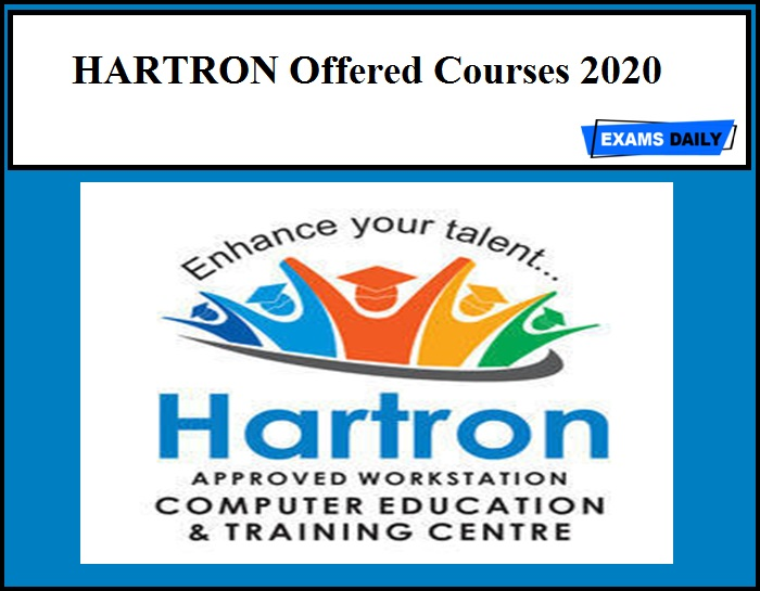 HARTRON Offered Courses 2020