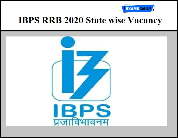 IBPS RRB 2020 State wise Vacancy