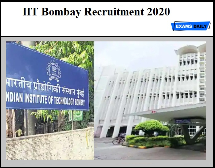 IIT Bombay Recruitment 2020 OUT – RA Vacancy