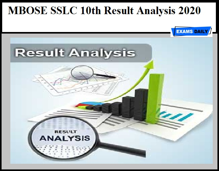 MBOSE SSLC 10th Result Analysis 2020 – Download Meghalaya Class 10 Results Details Here