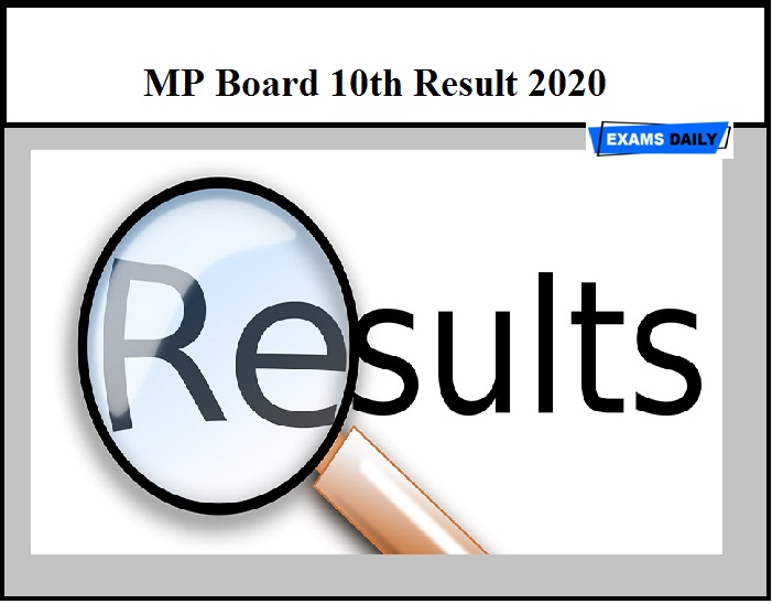 MP Board 10th Result 2020 to be released tomorrow – Check MPBSE Board Exam Result Details