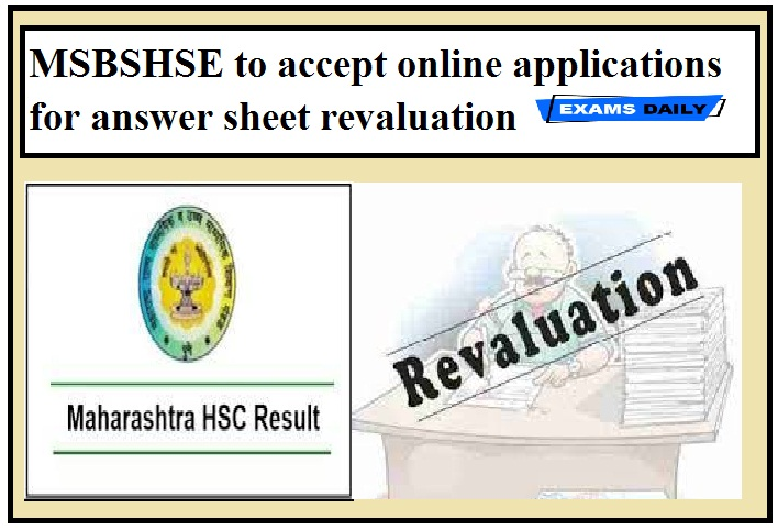 MSBSHSE to accept online applications for answer sheet revaluation