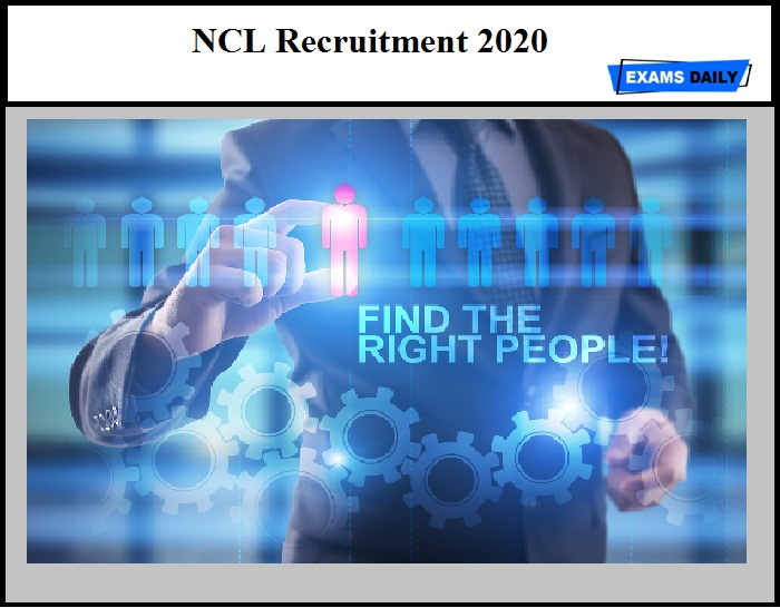 NCL Recruitment 2020 Out – Apply for 495 Trainee & Other Vacancies