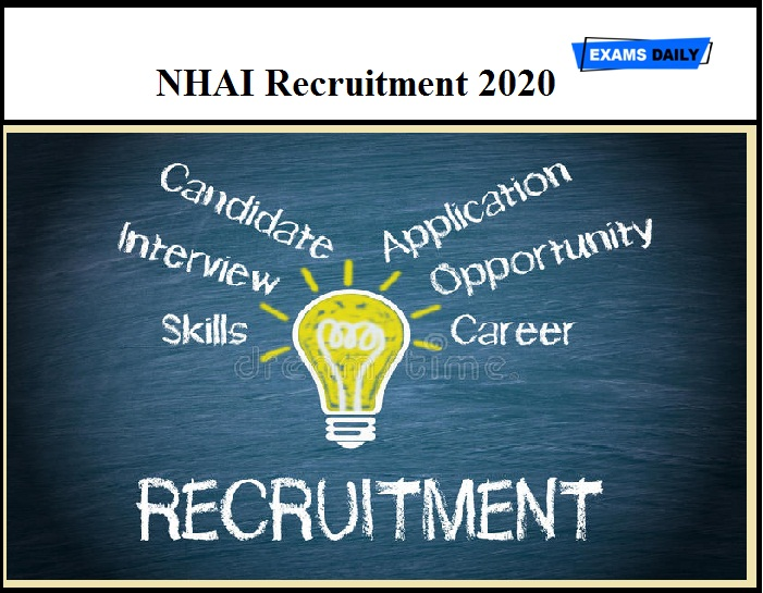NHAI Recruitment 2020 OUT – Manager & Other Vacancies