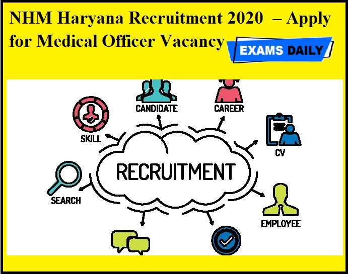 NHM Haryana Recruitment 2020 OUT – Apply for Medical Officer Vacancy