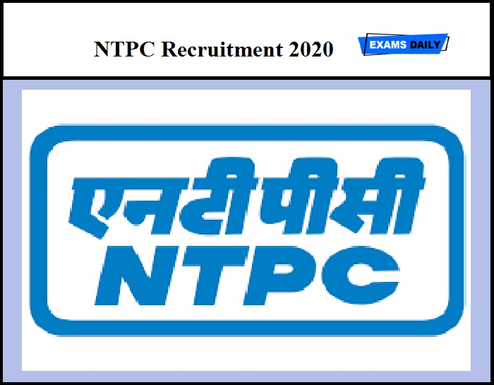 NTPC Recruitment 2020 out – Apply for 275 Engineer & Other Posts