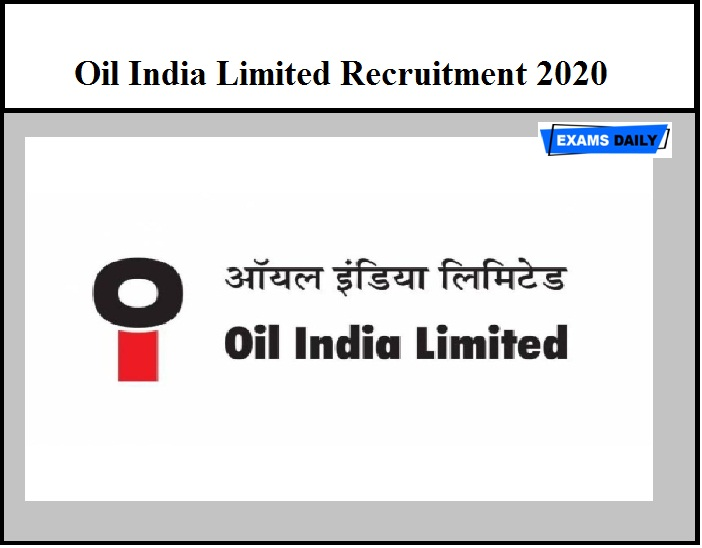 Oil India Limited Recruitment 2020 - Contractual Chemical Assistant Vacancy (Walk-In Interview)