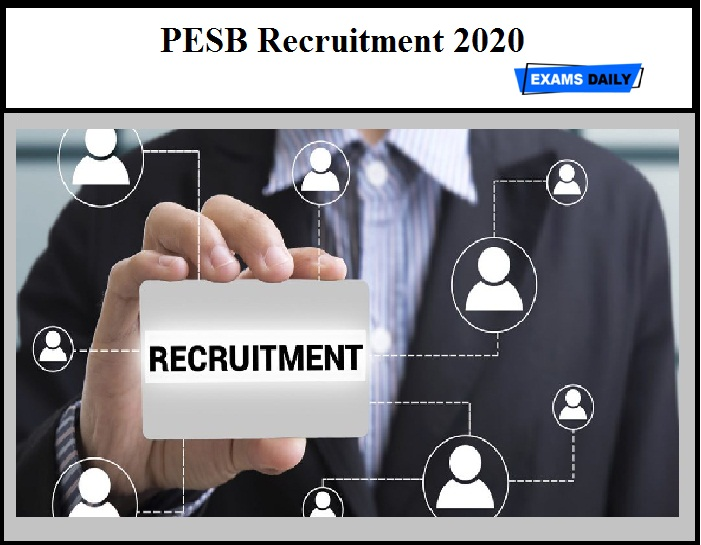 PESB Recruitment 2020 OUT - Director Vacancy
