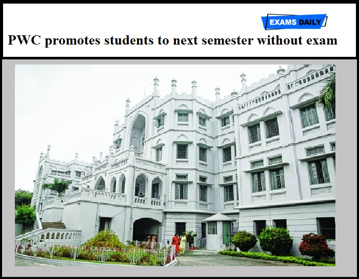 PWC promotes students to next semester without exam