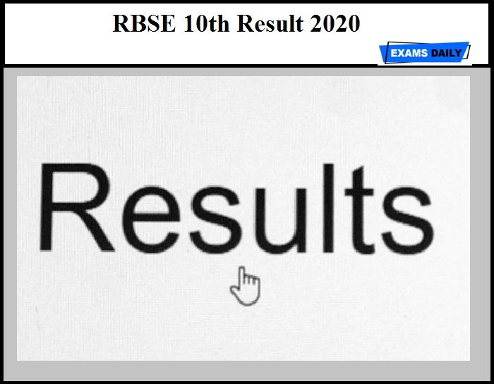 RBSE 10th Result 2020 – Check Rajasthan Board Secondary Results Details Here