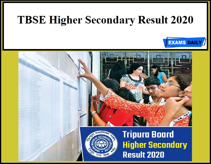 TBSE Higher Secondary Result 2020