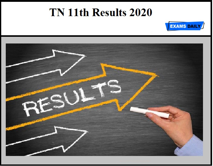 TN 11th Results 2020 – Check Tamil Nadu HSE (+1) Result Details Here