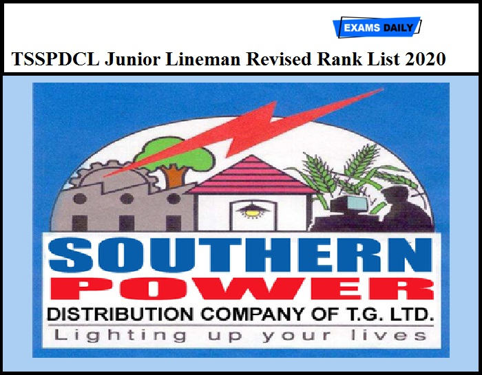 TSSPDCL Results 2020 Released – Download Junior Lineman Revised Rank List