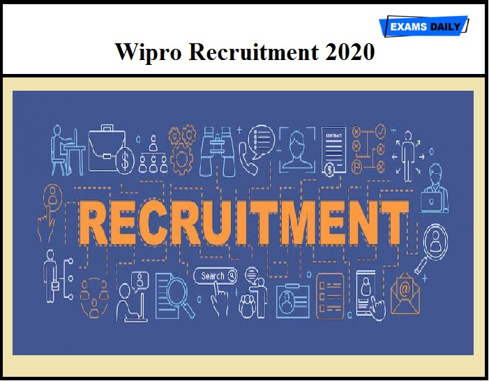 Wipro Recruitment 2020 – Apply Online for Consultant & Other Vacancies