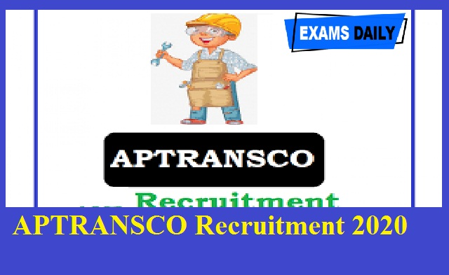 APTRANSCO Recruitment 2020